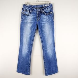 Miss Me | Medium Wash Boot Cut Jeans-E23